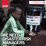 We Need Disaster Risk Managers