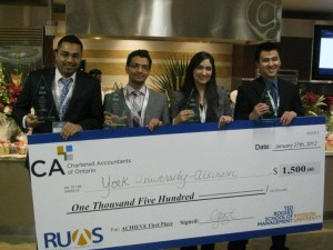SAS Students Accounting Prize