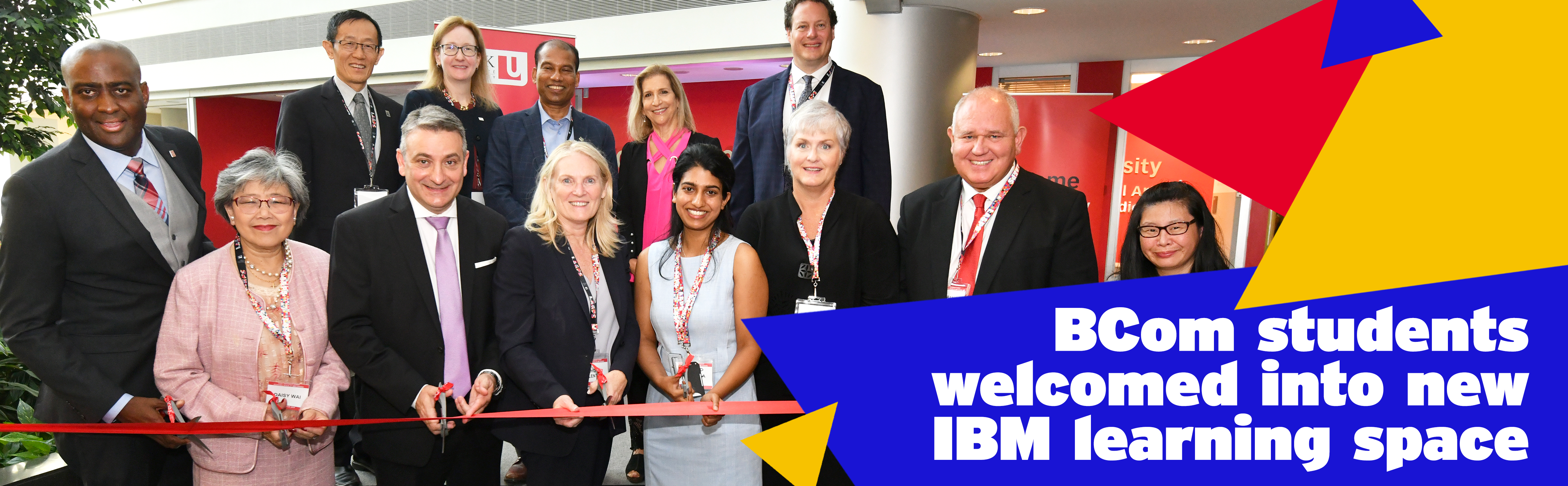BCom students welcomed into new IBM learning space